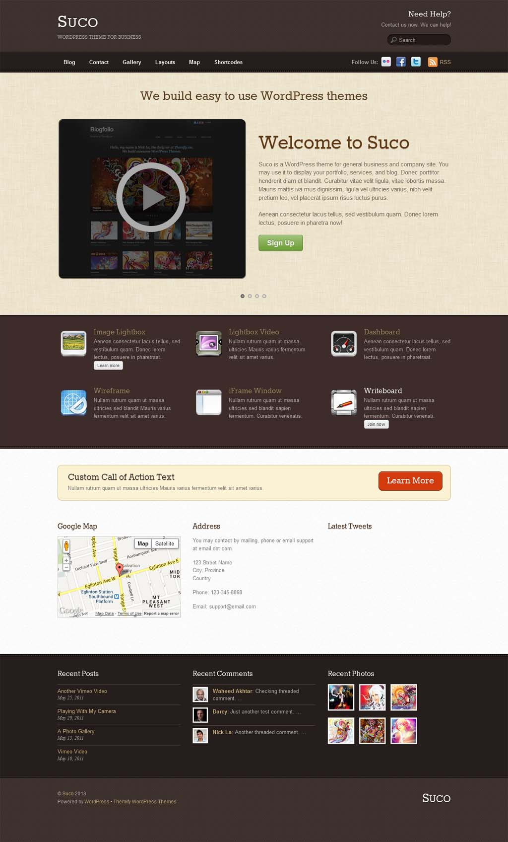 Suco Responsive Business Theme