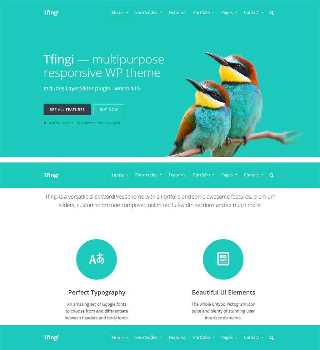 Tfingi Responsive Business Theme