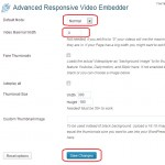 WordPress Responsive YouTube Video